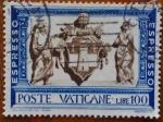 Sellos del Mundo : Europa : Vaticano : escudo