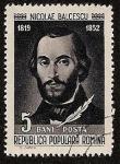 Sellos de Europa - Rumania -  Escritores Rumanos - Nicolae Balcescu - historiador