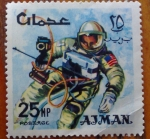 Stamps Asia - Jordan -  Astronauta