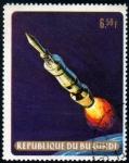 Stamps Africa - Burundi -  Apolo 11: Tercera fase del Saturno V