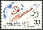 Stamps Spain -  2662 - Mundial de fútbol, España 82