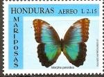 Sellos del Mundo : America : Honduras : MARIPOSAS.  MARPHO  PALEIDES