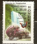 Stamps of the world : Honduras :  UPAEP.  AMÈRICA  2001