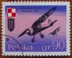 Stamps Poland -  Aviones