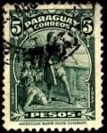 Sellos de America - Paraguay -  450 aniversario del descubrimiento de Am�rica.