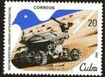 Stamps Cuba -  Uso pacifico del Espacio