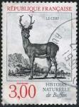 Sellos de Europa - Francia -  Ciervo