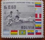 Sellos de America - Bolivia -  Sudamericano