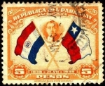 Sellos de America - Paraguay -  Chile, Presidente Alessandri, árbitro.
