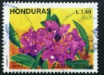 Stamps Honduras -  Flor