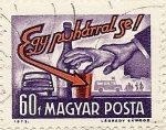 Stamps of the world : Hungary :  Egy puharral se