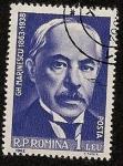 Stamps Romania -  Gheorghe Marinescu - medicina - neurología