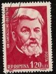Stamps Romania -  Ion Cantacuzino - medicina -  microbiología