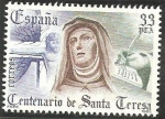 Sellos de Europa - España -  2674 - IV centº de la muerte de Santa Teresa de Avila