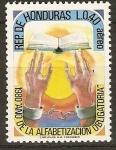 Stamps Honduras -  AÑO  DE  LA  ALFABETIZACIÒN  OBLIGATORIA  1980