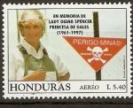 Sellos de America - Honduras -  LADY   DIANA   SPENCER.  PRINCESA  DE  GALES.