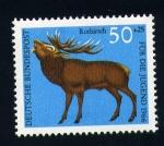 Stamps Germany -  ciervo