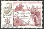 sellos de Europa - España -  2703 - Europa Cept, El Quijote, de Miguel de Cervantes