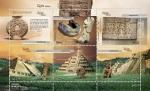 Stamps of the world : Mexico :  zona arqueológica Tajín