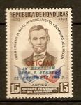 Sellos de America - Honduras -  A la memoria de John F. Kennedy