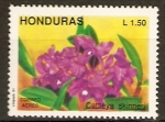 Stamps of the world : Honduras :  ORQUÌDEAS.  CATTLEYA  SKINNERI.