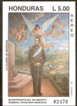 Stamps of the world : Honduras :  BICENTENARIO  DEL  NACIMIENTO  DEL  GENERAL  JOSÈ  FRANCISCO  MORAZÀN  QUEZADA