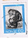 Sellos del Mundo : Europa : Noruega : Noruega 7