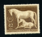 Stamps Europe - Germany -  Yegua y potro