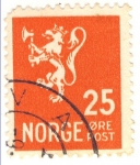 Stamps Norway -  escudo