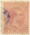 Stamps of the world : Philippines :  Alfonso XIII,