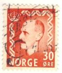 Sellos del Mundo : Europa : Noruega : Haakon VII de Noruega