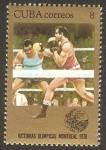 Stamps Cuba -  victorias olimpicas en montreal 76, boxeo