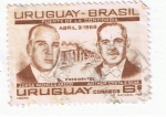 Sellos del Mundo : America : Uruguay : Puente de la Concordia Uruguay Brasil