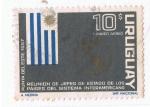 Sellos del Mundo : America : Uruguay : Reunión de jefes de estado de los paises interamericanos