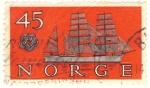 Stamps Europe - Norway -  velero