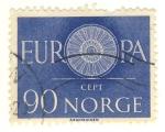 Sellos de Europa - Noruega -  europa