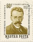 Stamps Hungary -  SZABO ERVIN 1877-1913