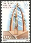 Stamps Spain -  2710 - Día de las Fuerzas Armadas