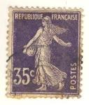 Stamps France -  Semuese Camée