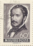 Stamps of the world : Hungary :  TOMPA MIHALY 1817-1868