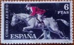 Stamps Spain -  Equitacion
