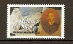 Sellos de America - México -  Heinrich von Stephan