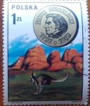 Stamps Poland -  canguro
