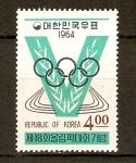 Stamps Asia - South Korea -  Olimpíadas