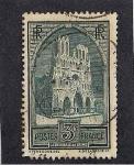 Sellos de Europa - Francia -  Catedral de Reims