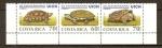 Sellos de America - Costa Rica -  Tortugas