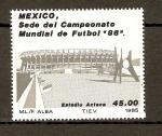 Sellos de America - México -  Mundial México 86