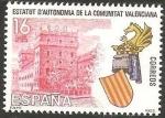 Stamps of the world : Spain :  2691 - Estatuto de Autonomía de la Comunidad de Valencia