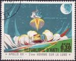 Stamps Haiti -  Despegue de la Luna