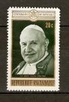 Stamps Africa - Rwanda -  Juan XXIII